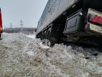 На Одоевском шоссе в Туле у водителя фуры отказало сердце, Фото: 3