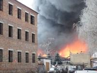 Пожар на хладокомбинате в соцсетях, Фото: 4