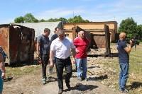 В Тульской области незаконно сжигали московский мусор, Фото: 20