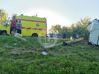 В Тульской области фура влетела в автобус: перекрыта трасса М-2, Фото: 15
