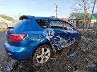 В Туле Mazda-3 сбила рябину и влетела в припаркованный Peugeot , Фото: 9