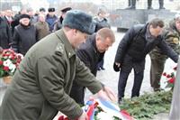 Возложение цветов к памятнику на площади Победы. 21 февраля 2014, Фото: 4