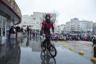 Широкая Масленица с Тульским цирком: проводы зимы прошли с аншлагом, Фото: 51