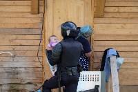 В Плеханово начали сносить дома в цыганском таборе, Фото: 133