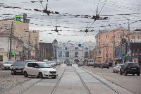 На ул. Советской в Туле убрали дорожные ограждения с трамвайных путей, Фото: 10