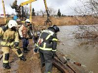 Паводок отступает: транспортное сообщение по мостам в Одоевском и Суворовском районах восстановлено, Фото: 5