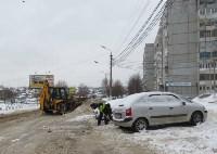 Сотрудники администрации Тулы проинспектировали уборку снега в городе, Фото: 2