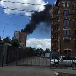 Пожар на на пересечении улиц Гоголевской и Свободы , Фото: 2