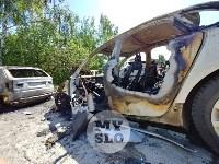 Цыганский конфликт в Туле: ночью подожжены четыре автомобиля, Фото: 11