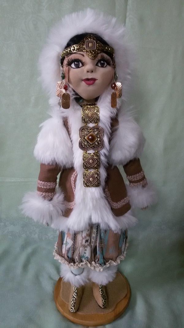 Текстильная кукла Якуточка
