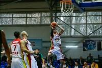 Тульские баскетболисты «Арсенала» обыграли черкесский «Эльбрус», Фото: 30