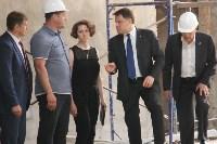 Владимир Груздев проинспектировал ремонт бассейна на улице Гоголевской. 8 июля 2015, Фото: 18