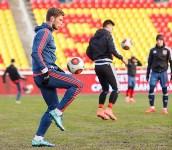 Первая тренировка «Арсенала» на Центральном стадионе в 2016 году., Фото: 47