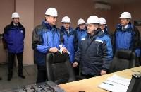 Врио губернатора Тульской области Алексей Дюмин посетил  ПАО «Тулачермет», Фото: 9