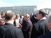 Владимир Путин отмечает день рождения, Фото: 3