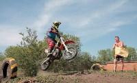Юные мотоциклисты соревновались в мотокроссе в Новомосковске, Фото: 39