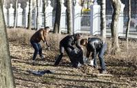 Субботник в Комсомольском парке с Владимиром Груздевым, 11.04.2014, Фото: 45