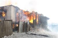 Пожар в жилом бараке, Щекино. 23 января 2014, Фото: 18
