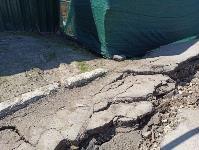 В Туле при строительстве аквапарка провалился грунт