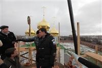 Осмотр кремля. 2 декабря 2013, Фото: 12