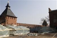Реконструкция Тульского кремля. 11 марта 2014, Фото: 24