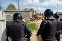 В Плеханово начали сносить дома в цыганском таборе, Фото: 99