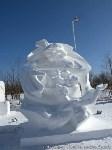Фестиваль снежной скульптуры в Китае, Фото: 6