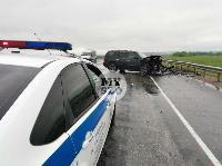 В серьезном ДТП на М-2 в Туле пострадали три человека, Фото: 26