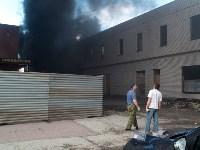 Загорелся недостроенный ТЦ на Красноармейском проспекте, Фото: 22
