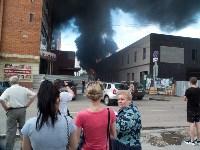 Загорелся недостроенный ТЦ на Красноармейском проспекте, Фото: 19