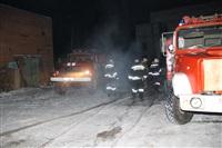 Пожар на складе ОАО «Тулабумпром». 30 января 2014, Фото: 7