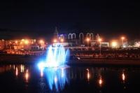 Шоу фонтанов на Упе. 9 мая 2014 года., Фото: 45