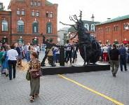 В Туле открыли скульптуру «блохе-киборгу», Фото: 71
