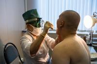 Экспресс-тест на covid-19, маски и социальная дистанция: В Туле первых призывников отправили в армию, Фото: 38