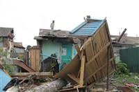 Последствия урагана в Ефремове., Фото: 13