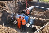 Как ведется монтаж водовода, питающего водой Пролетарский округ Тулы. Фото, Фото: 33