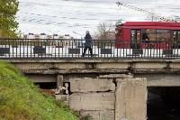 Орловский путепровод в Туле. Октябрь 2019, Фото: 23