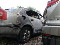 Утром 27 мая в Заречье вспыхнули три иномарки, Фото: 4
