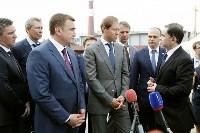 В Туле министр промышленности и торговли РФ  осмотрел  стройплощадку ООО «Тулачермет-Сталь», Фото: 3