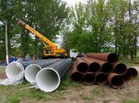 В Туле меняют аварийный участок трубы, из-за которого отключали воду в Пролетарском округе, Фото: 5