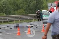 В ДТП под Тулой погибли три сотрудника УФСИН, Фото: 6