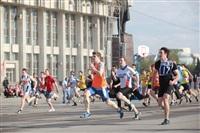 Легкоатлетическая эстафета школьников. 1.05.2014, Фото: 14