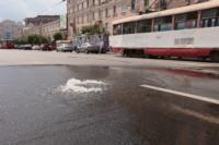 Возле роддома в центре Тулы забил фонтан, Фото: 8