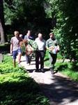 Представители Австрии, Германии, Италии и России возлагают памятные венки к могилам  русских воинов на военном кладбище в г. Бриксен., Фото: 57