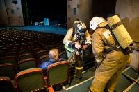 Тульские пожарные провели учения в драмтеатре, Фото: 4
