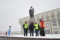 Автофлешмоб на площади Ленина в честь Дня памяти жертв ДТП, Фото: 12