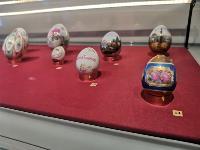 В Туле открылась выставка старинных фарфоровых пасхальных яиц, Фото: 8