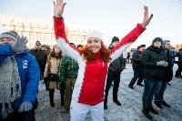 Физкультминутка на площади Ленина. 27.12.2014, Фото: 32