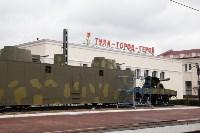 На Московском вокзале установили памятник защитникам Тулы, Фото: 5