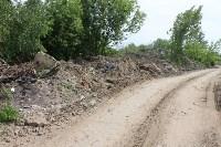 В тульском Заречье жители год добиваются ликвидации ядовитой свалки, Фото: 41